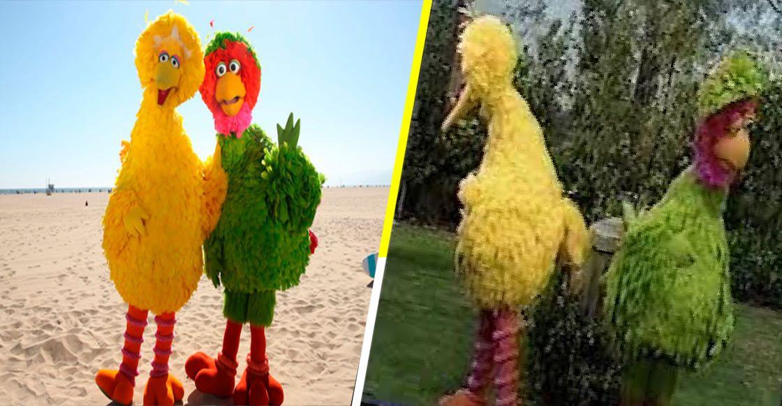 El misterio se ha resuelto: Esta es la relación entre Big Bird y Abelardo de Plaza Sésamo