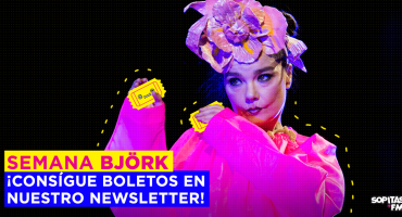 ¡Suscríbete a nuestro Newsletter y llévate boletos (de los caros) para Björk!