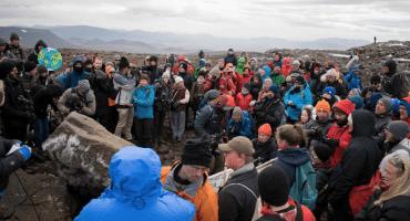 Cambio climático: Islandia organiza un funeral por los glaciares perdidos