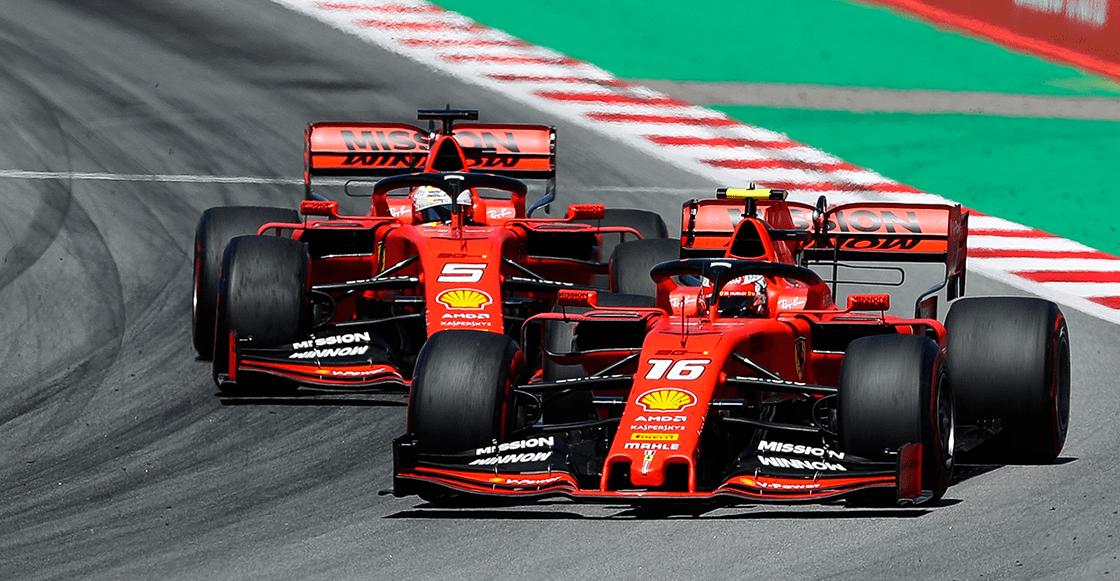 Leclerc se chamaquea a Vettel en la calificación y Checo vuelve al top 10 en el GP de Bélgica