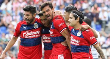 ¡Pásenle a ver los goles! Chivas no ganó, pero tampoco perdió (pero casi) ante el Puebla