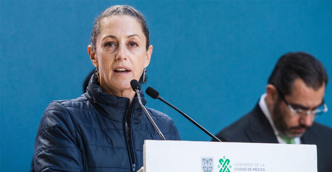 """Ante protestas dice Sheinbaum que el gobierno no """"va a caer en provocaciones"""""""