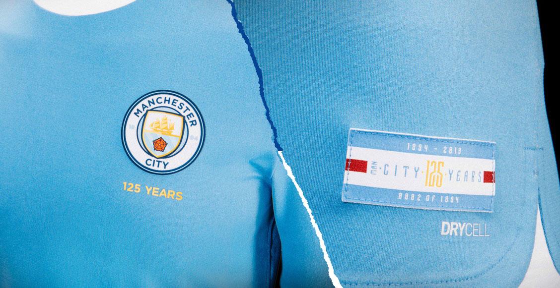 ¿Cómo comprar el uniforme de 125 aniversario del Manchester City limitado a 1,894 piezas?