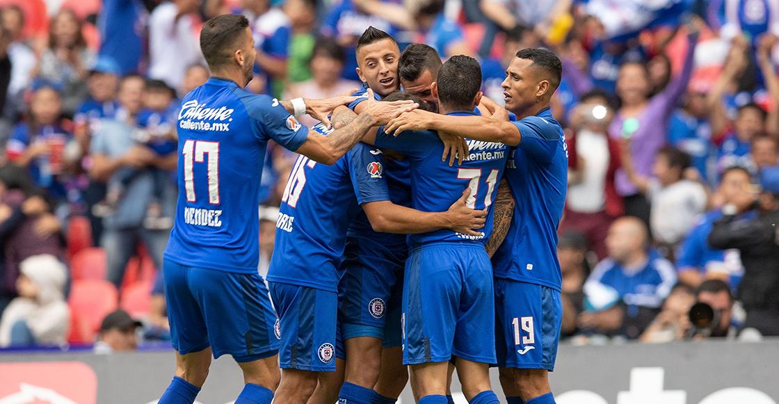 Cruz Azul agarró pichón en el Azteca y al fin ganó después de cuatro jornadas