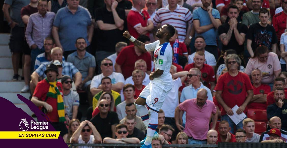 Crystal Palace le arrebató el invicto al Manchester United con gol de último minuto