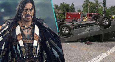 ¡Machete salva! Danny Trejo rescata a un bebé de un auto volcado