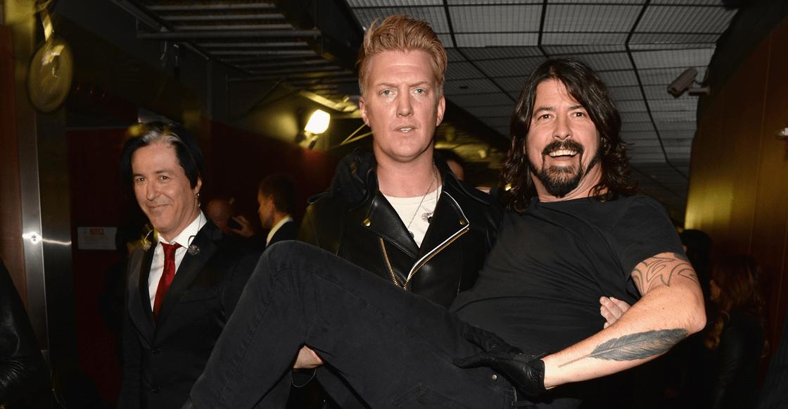 Nada más nos ilusionan: Dave Grohl confirma que no tocará en el próximo disco de Queens of the Stone Age