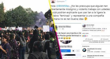 Empleado de BMW es denunciado en redes sociales por sugerir golpear a mujeres