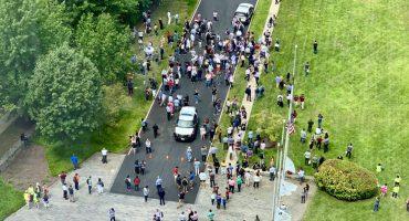 Desalojan edificio del USA Today en Virginia por reportes de un hombre armado