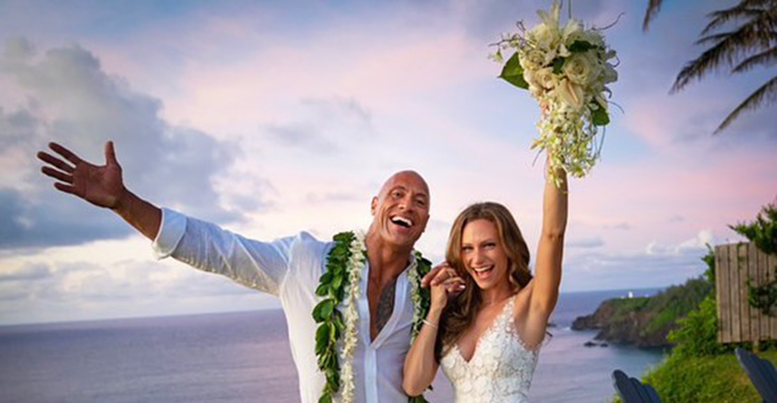 Amor de Roca... Dwayne 'The Rock' Johnson se casó con Lauren Hashian