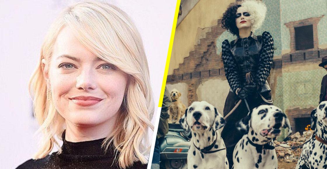 OMG! Checa la primera imagen de Emma Stone como Cruella de Vil