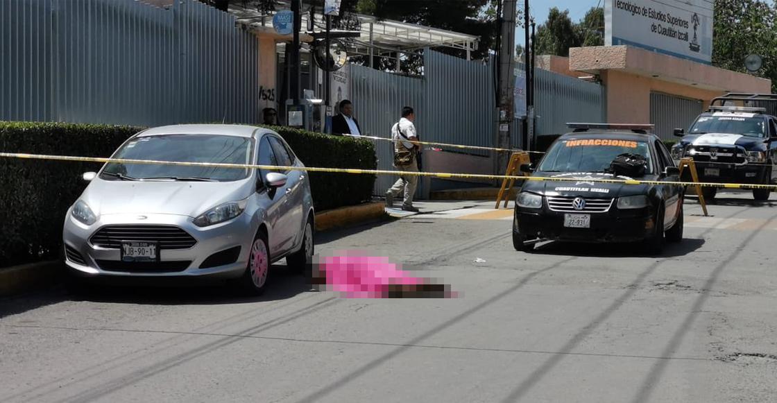 Un estudiante fue asesinado frente al Tecnológico de Cuautitlán Izcalli