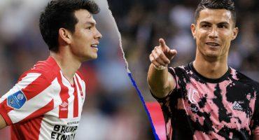 ¿Cuándo se enfrentará el 'Chucky' Lozano contra Cristiano Ronaldo?