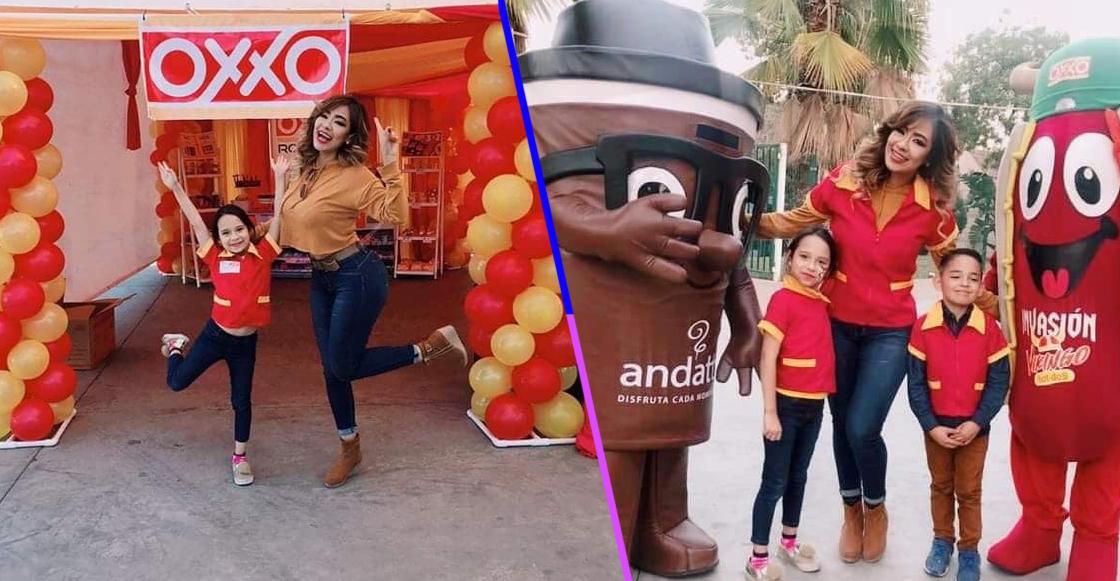 Porque México: Niña tiene su fiesta de cumpleaños con temática del OXXO