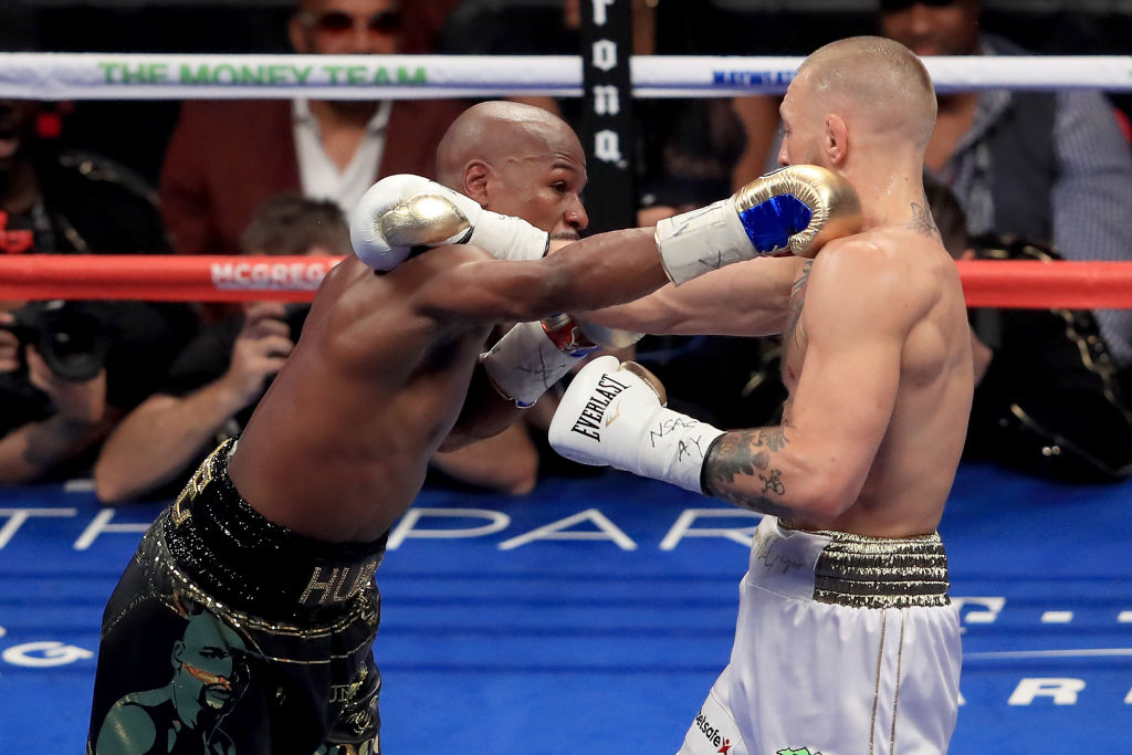 Mayweather y McGregor protagonizan pelea... de burlas en Instagram