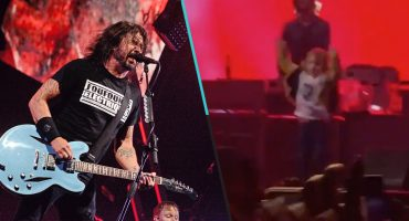 ¡Lo hizo de nuevo! Dave Grohl subió a fan de 5 años al escenario a rockear <3