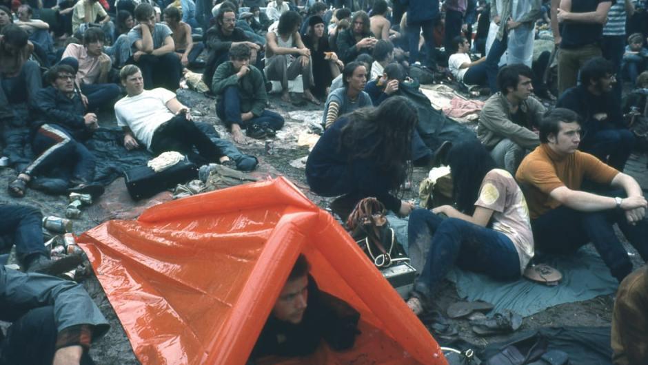 Mira las fotos inéditas que liberaron por el 50 aniversario de Woodstock