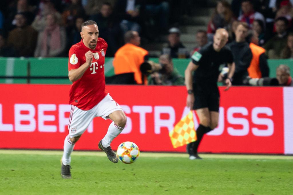 Franck Ribéry sería la opción número 1 para el PSV si el 'Chucky' se va al Napoli