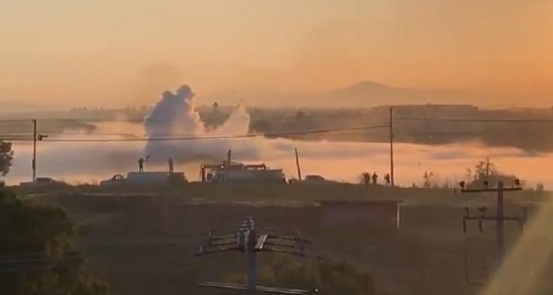 Se reporta fuga de gas en Nextlalpan, Estado de México; habitantes son evacuados