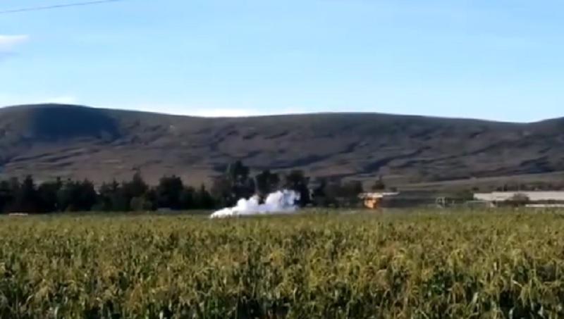 Se registra fuga de gas en San Jerónimo Ocotitlán; cierran autopista Puebla-Orizaba