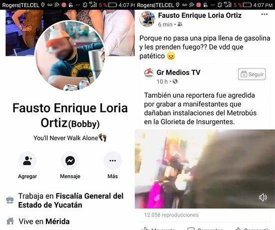 Destituyen a empleado de la Fiscalía de Yucatán por comentarios misóginos