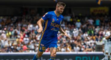 Gignac supera a Tomás Boy como máximo goleador de Tigres y de paso despacha a Pumas