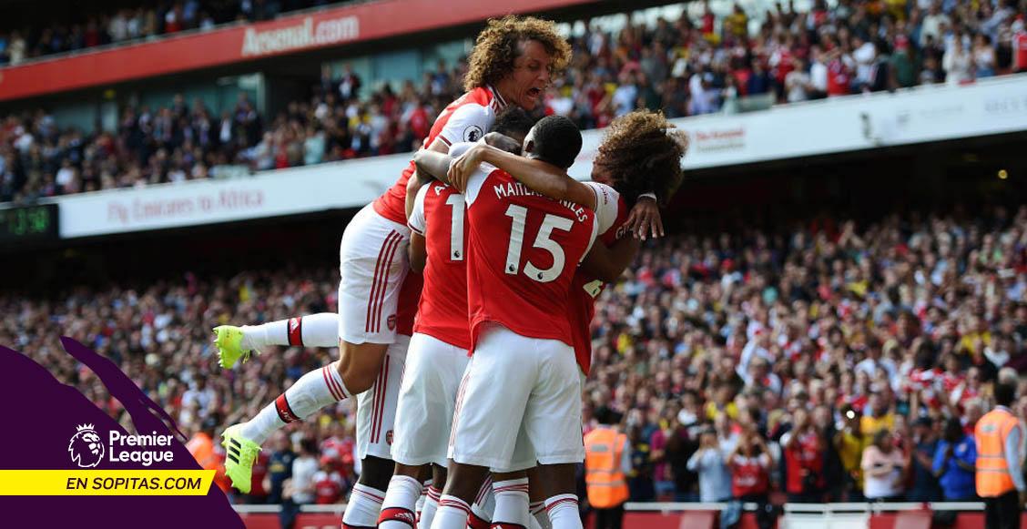 Lacazette y Aubameyang mantienen el paso perfecto del Arsenal en la Premier League