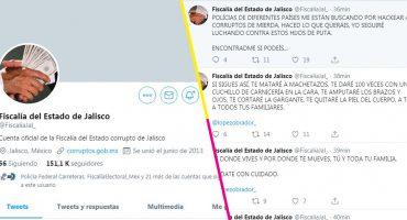 Hackearon la cuenta de Twitter de la Fiscalía de Jalisco y amenazaron a AMLO