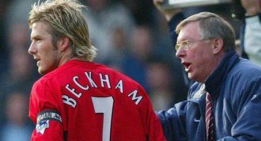 El día que Sir Alex Ferguson y David Beckham casi se agarraron a golpes