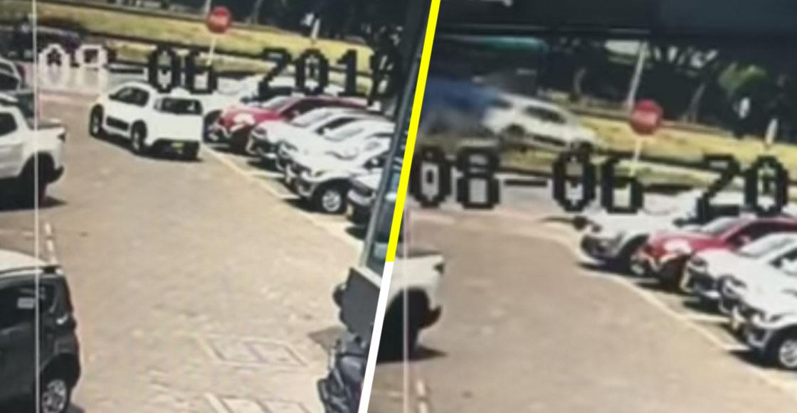 Mala suerte nivel: Sujeto choca su auto minutos después de comprarlo en la agencia