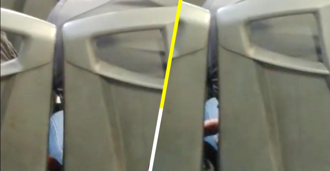 Captan a hombre manoseando a mujer que viajaba dormida en camión de la CDMX