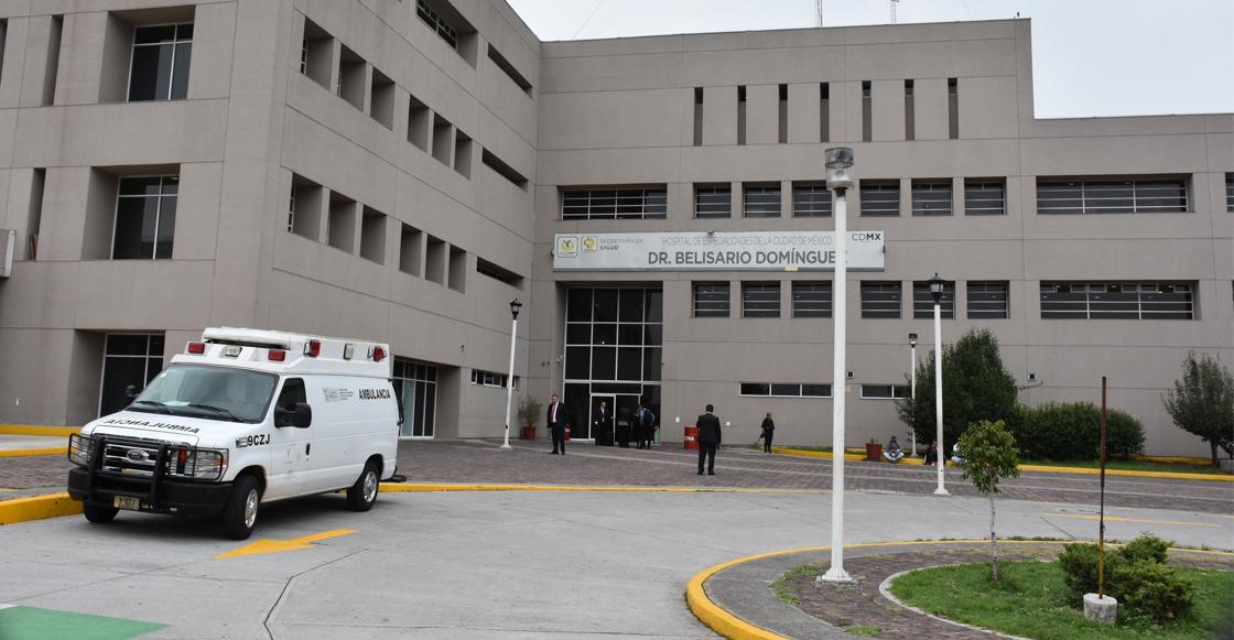 Encontraron el cuerpo de un recién nacido en el Hospital Dr. Belisario Domínguez