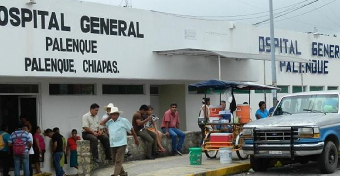 Destituyen a trabajadores del Hospital de Palenque por caso de ataúd con basura
