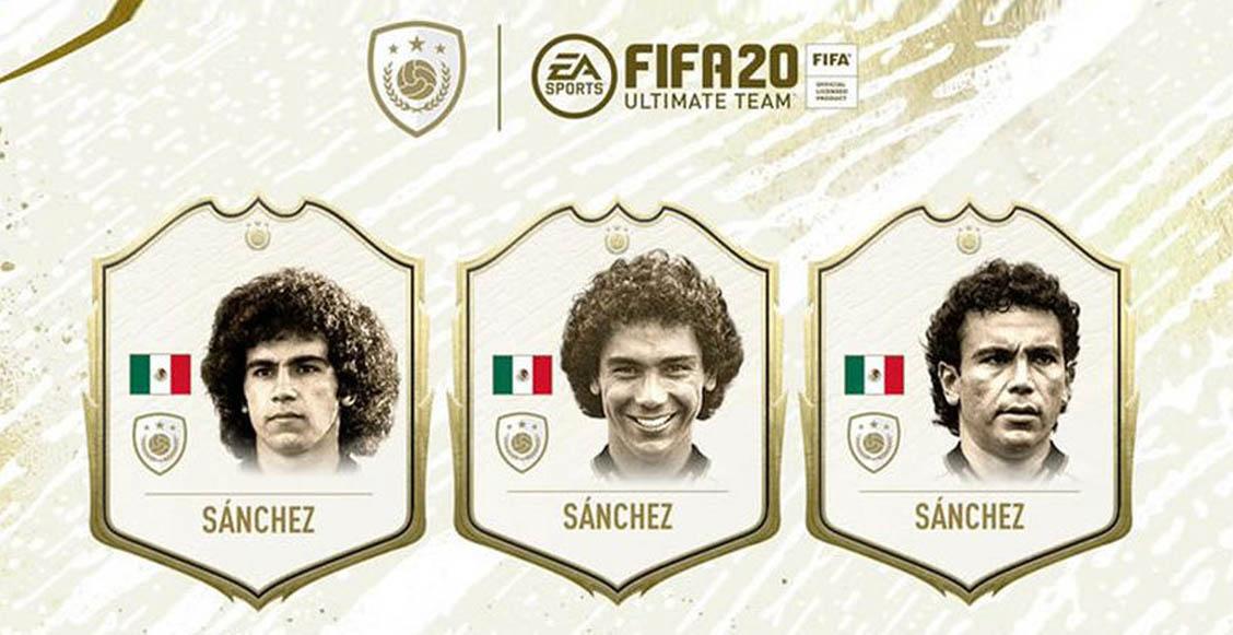 ¡Ya queremos jugar! Hugo Sánchez estará en el Ultimate Team del FIFA 20