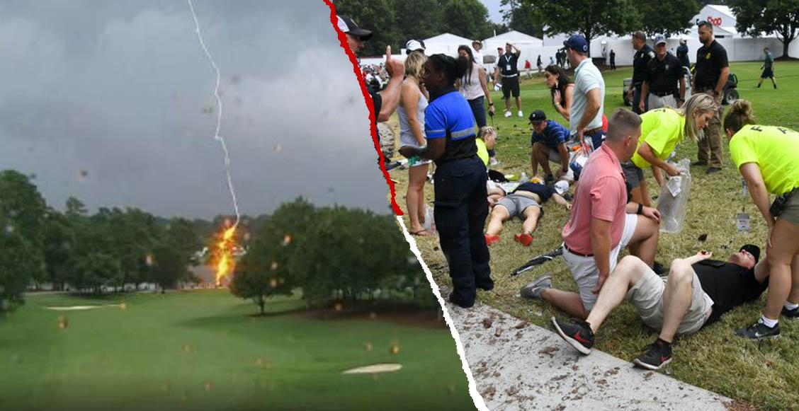 Impacto de rayo dejó al menos 6 lesionados en el PGA Tour en Atlanta