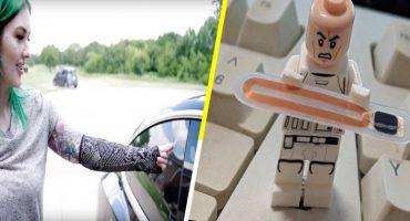 Esta chica se implantó un chip RFID para abrir su Tesla Model 3 en un chasquido 🚘