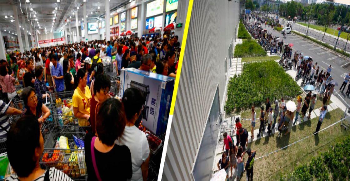 ¡De locura! El primer Costco en China causa total conmoción