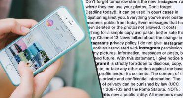 ¿En realidad sirve la 'imagen de privacidad' que todo mundo está subiendo a Instagram?