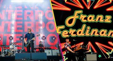 Qué maravilla: ¡Interpol y Franz Ferdinand darán conciertos juntos en México!