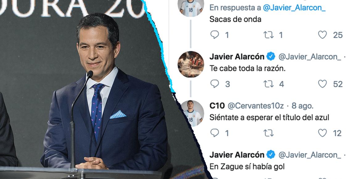 Javier Alarcón impartió cátedra de albur en Twitter