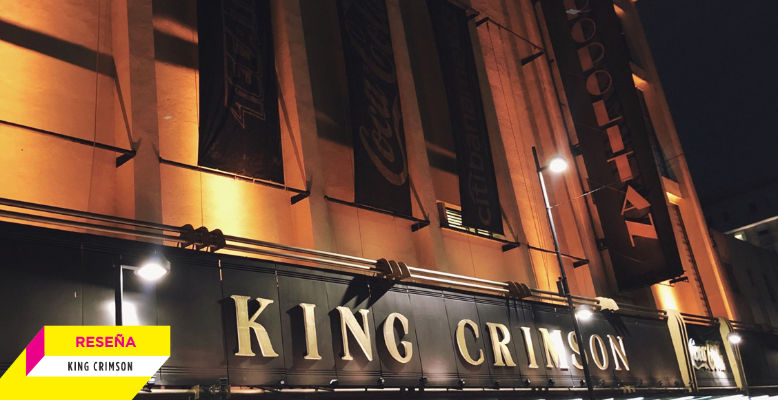 Imponente, pero 'algo' faltó: King Crimson en el Metropólitan