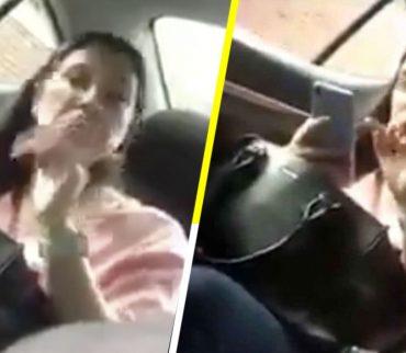 #LadyUber: Mujer agrede a conductor y lo amenaza con dejarlo sin trabajo
