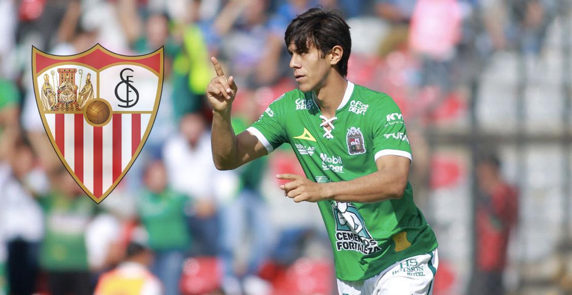 León y Sevilla unirán fuerzas para comprarle a 'JJ' Macías a Chivas y enviarlo a La Liga
