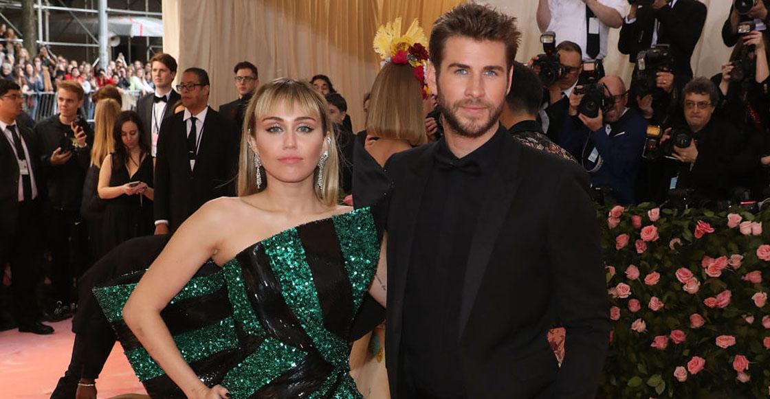 Miley Cyrus y Liam Hemsworth se separan luego de 8 meses de casados