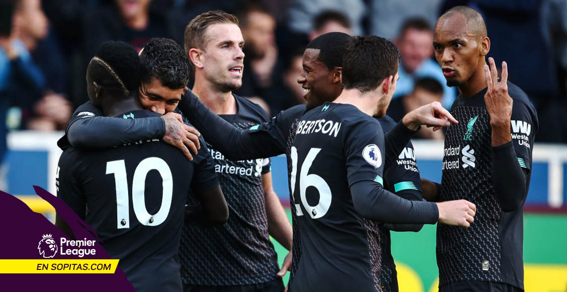 Liverpool se afianza en la cima de la Premier League tras vencer al Burnley