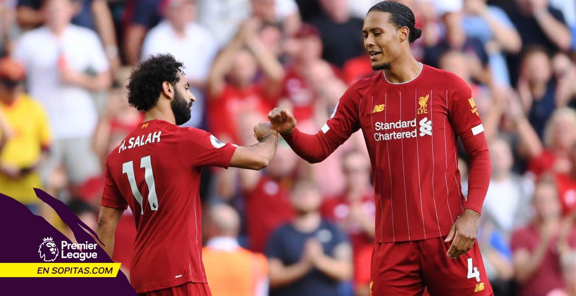 Liverpool goleó al Arsenal y son el único equipo con 'paso perfecto' en la Premier