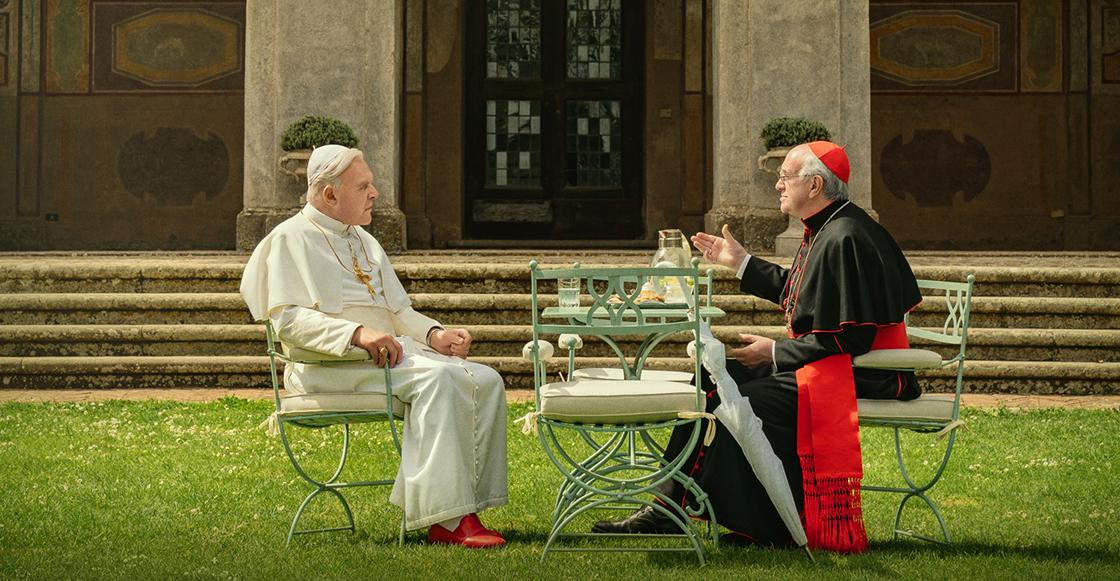 Netflix libera el primer tráiler de 'Los dos papas' con Anthony Hopkins y Jonathan Pryce