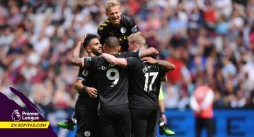 'Chicharito' y el West Ham fueron goleados 0-5 por el Manchester City