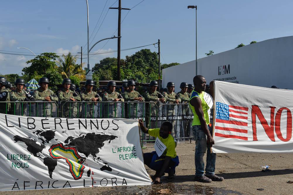 manifestación-migrantes-tapachula-chiapas