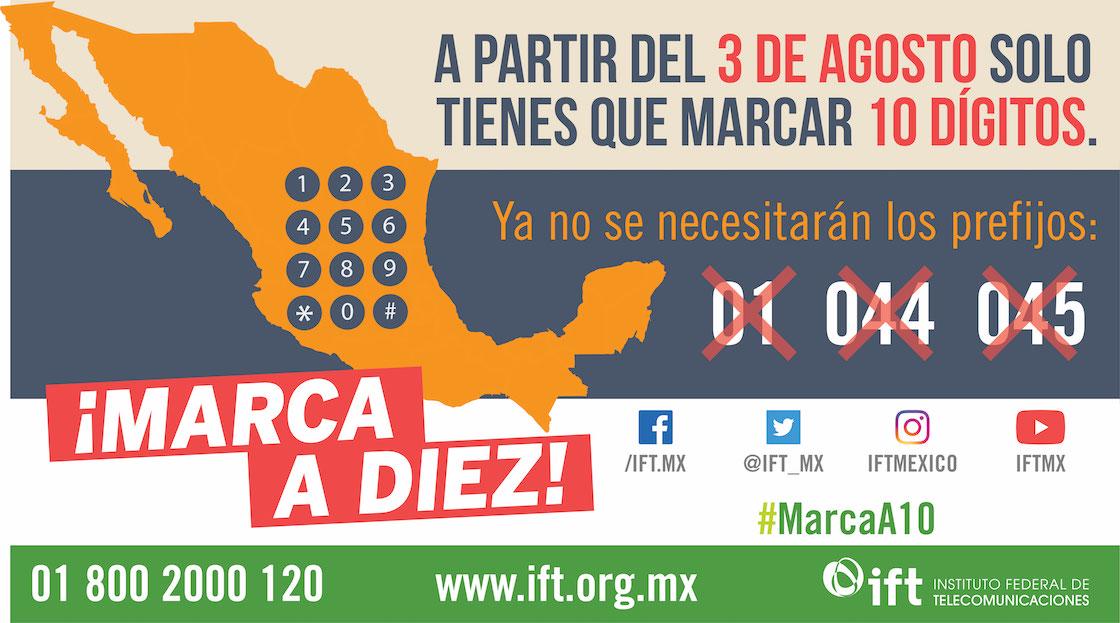 marcacion-nueva-prefijos-mexico-ift